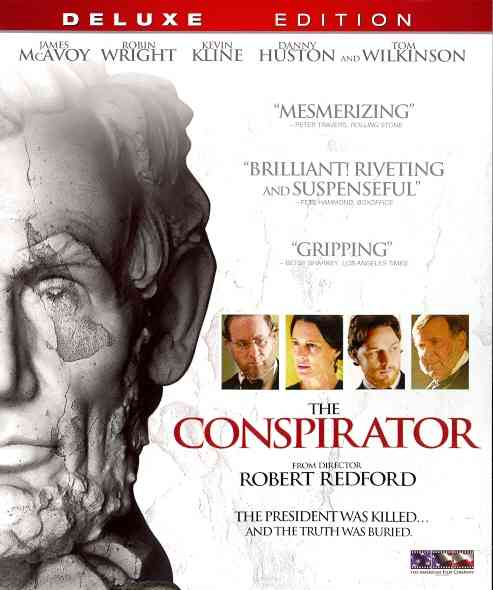 CONSPIRATOR BY MCAVOY,JAMES (Blu-Ray)